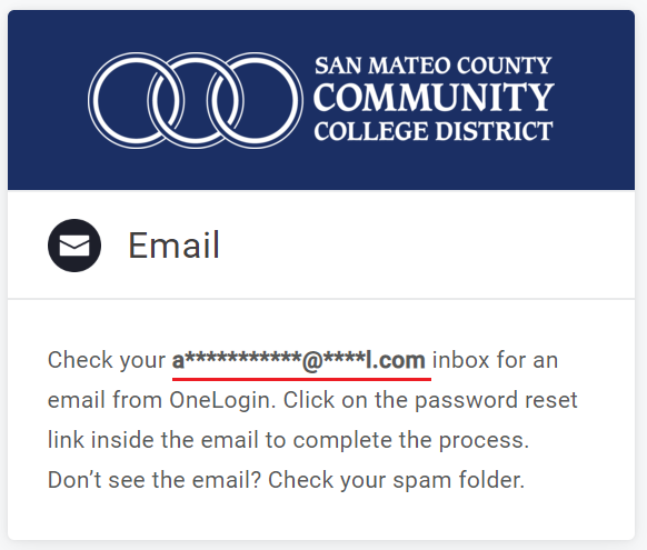 Email address hit is underlined and highlighted.